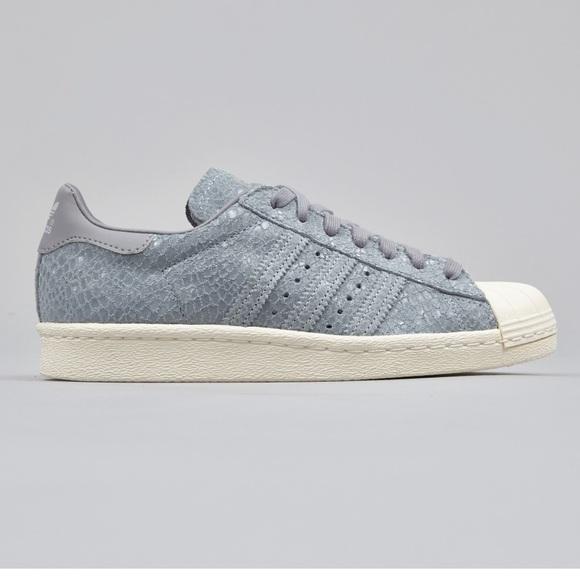 adidas Superstar Suede shoes grey